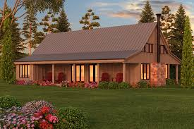 Barn Style House Plans Rustic Home