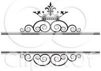 Awesome Swirl Clipart Wedding Free Tiara Border Clip Art 42