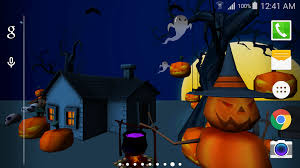 Halloween Live Wallpapers For Pc by 3d Halloween Live Wallpaper Android Apps On Google Play