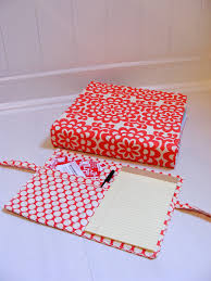Decorative 3 Ring Binders by How To Make A Fabric Cover For A 3 Ring Binder This Would Be