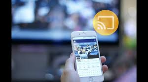 mirror iphone to tv using chromecast