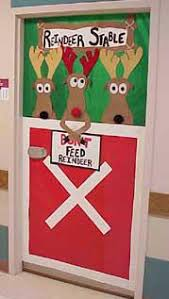 don t feed the reindeer christmas classroom door decoration idea