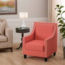 Coral Colored Decorative Accents by Accent Chairs Arm Chairs Kirklands