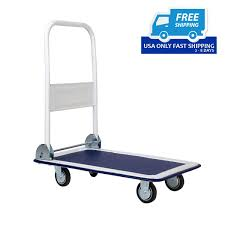 New 330lbs Platform Cart Dolly Folding Foldable Moving Warehouse ...