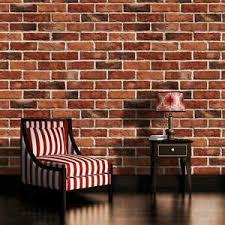 details zu fototapete ziegeloptik backstein wand mauer ziegel rot wohnzimmer tapete