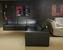 Nevio power reclining leather sectional 6 pc $4600 Yelp