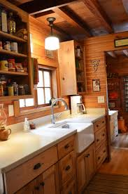 Magnificent Rustic Cabin Kitchen Ideas Design Log Home Kitchens And
