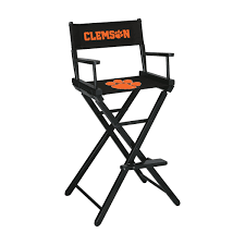 Clemson University Bar Height Directors Chair Ncaa Chairs Academy Byog Tm Outlander Chair Dabo Swinney Signature Collection Clemson Tigers Sports Black Coleman Quad Folding Orangepurple Fusion Tailgating Fisher Custom Advantage Zero Gravity Lounger Walmartcom Ncaa Logo Logo Chair College Deluxe Licensed Rawlings Deluxe 3piece Tailgate Table Kit Drive Medical Tripod Portable Travel Cane Seat