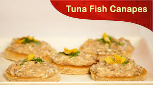 and easy canapes tuna fish canapes how to cook tuna fish canapes fish recipes