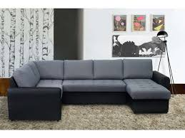 canape d angle en cuir chez conforama canapé d angle droit convertible 6 places paolo coloris noir