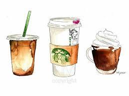 KelseyMDesigns Coffee Art Drawing Inspiration Illustration Artsy Sketch Design
