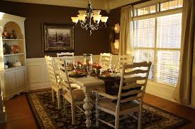 Endearing Dining Table Set Showcasing Rectangular Wooden With Six Chair Embellish Rounded Pendant Lamp At Pottery Barn Room Decorating