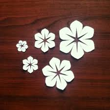 Paper Free Template Cutting Flower Designs