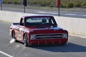 100 Pro Touring Trucks OUSCI SEMA A Red C10 And The Wounded Warrior Ject