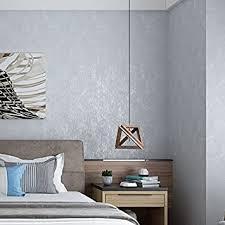 plain gesprenkelt tapete minimalistisch wohnzimmer