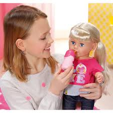 BABY Born 43cm Soft Touch Girl With Blue Eyes Doll The Entertainer