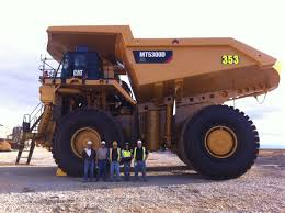 100 Cat Haul Trucks The New MT5300 Mining Truck Up At Kennocott It Is 28 Ft Tall
