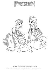 Anna And Elsa Olaf Rescue Frozen Games