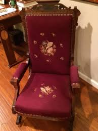 Eastlake Victorian Platform Rocking Chair, Illinois, Circa ... Victorian Rocking Chair Image 0 Eastlake Upholstery Fabric Application Details About Early Rocker Rocking Chair Platform Rocker Colonial Creations Mid Century Antique Restoration Broken To Beautiful 19th Mahogany New Upholstery Platform Eastlake Govisionclub Illinois Circa Victoria Auction