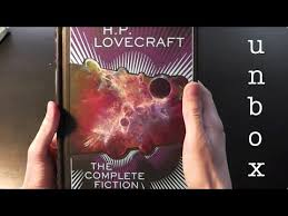 Unboxing HP Lovecraft The Complete Fiction Von Barnes Noble