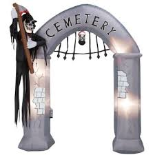 Halloween Blow Up Decorations For The Yard by Inflatable Archways Halloween Archway Blowups Christmas And More