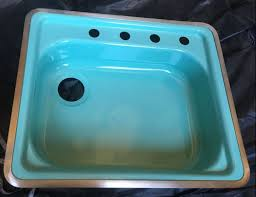 new old stock pink jadeite and turquoise kitchen sinks and more
