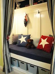 turn an underused closet into an adorable reading nook