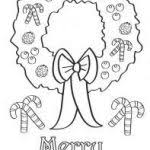 Printable Coloring Christmas Cards For Card Template Colouring