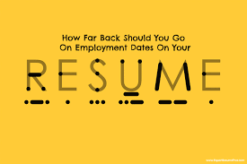 How Far Back Should You Go On Employment Dates On Your Resume ... How Long Should A Resume Be In 2019 Real Estate Agent Writing Guide Genius Myth Rumes One Page Beyond Career Success Far Back Your Go Grammarly 14 Unexpected Ways Realty Executives Mi Invoice And That Get Jobs Examples Buzzwords For Words Many Years A 20 2017 Beautiful Case Manager Unique Onepage Resume May Be Killing Your Job Search Cbs News Employment History On 99 On Wwwautoalbuminfo
