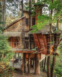 100 Houses In Nature Stagramda Survival Camping TreeHouse Time