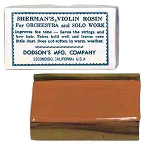 Sherman Sr1 Violin Rosin - Light