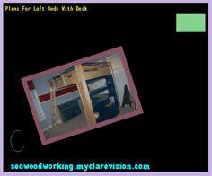 full bunk bed with desk plans 172527 woodworking plans and