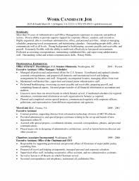 Executive Administrative Assistant Resume Sample 1