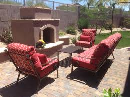 Red Patio Furniture Decor by Patio Furniture Phoenix Patio Cushions Phoenix Outdoor Furniture