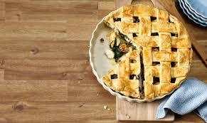 mürbeteig pie mit pouletcurry und spinat schweizer fleisch