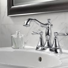 Delta Cassidy Bathroom Faucet by Delta Black Bathroom Faucets Delta Linden Chrome 2handle