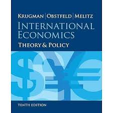 Pearson Desk Copy Return by International Economics Theory And Policy 10th Edition Pearson