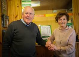 Valentines bid farewell as closure of landmark Kildare Post fice