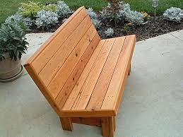 park bench building instructions plans diy free download build