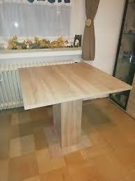 esstisch sonoma eiche nachbildung 80x80cm küchentisch