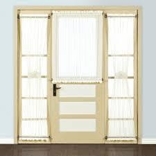 Front Door Side Panel Curtains by Front Doors Impressive Front Door Sheer Images Door Design Home