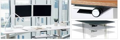 float the perfect height adjustable desk solution for any workspace