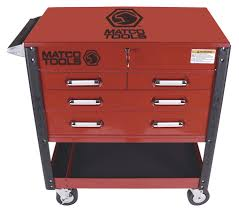Matco Tools Heavy Duty Service Cart, No. MSC4 In Tool Storage