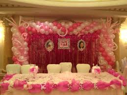 Sener Table Ideas In Simple Balloon Decoration At Home