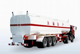 100 Fuel Trucks Triaxle Tank Tank Truck_
