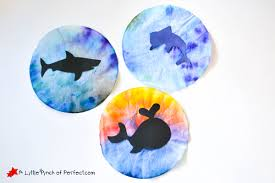 Ocean Animal Coffee Filter Suncatcher Craft For Kids Free Template We Used Filters