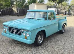 100 1962 Dodge Truck D100 Short Bed The HAMB