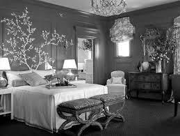light grey bedroom walls gray shag rug brown platform