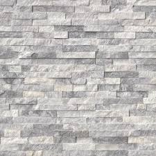 6 X 24 Wall Tile Layout by Discount Glass Tile Store Ledgestone Ice Gray Marble 6