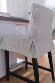 How To Sew A Parsons Chair Slipcover For The IKEA HENRIKSDAL ...